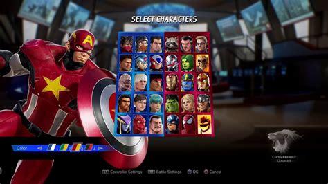 Marvel Vs Capcom Infinite   Todas as roupas de todos ...