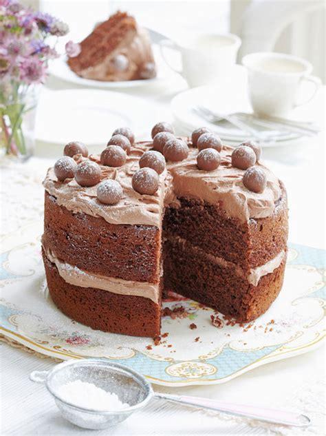 Mary Berry s malted chocolate cake recipe | HELLO!
