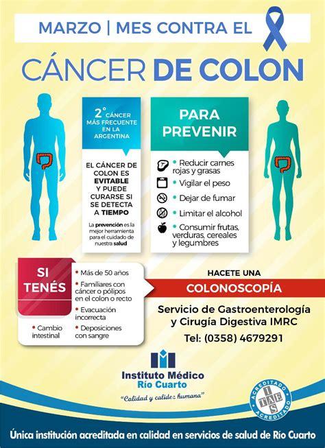 Marzo – Mes Contra el Cáncer de Colon – Instituto Médico ...