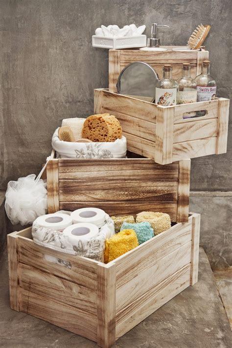 Marzua: Decoración con cajas de madera