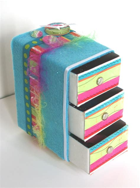 ...más cajas de fósforos decoradas   Memorias de Papel