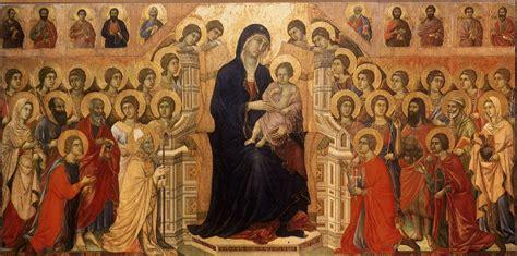 Más clases de arte: Maesta, Duccio di Buoninsegna, 1311