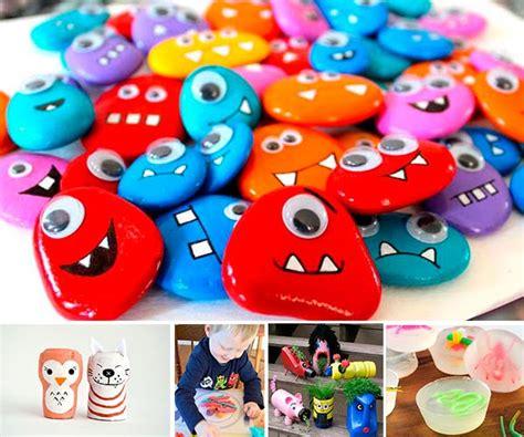 ¡Más de 100 manualidades fáciles para niños!   Pequeocio