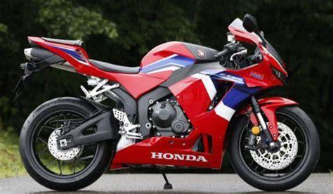 Más fotos oficiales de la nueva Honda CBR600RR 2021
