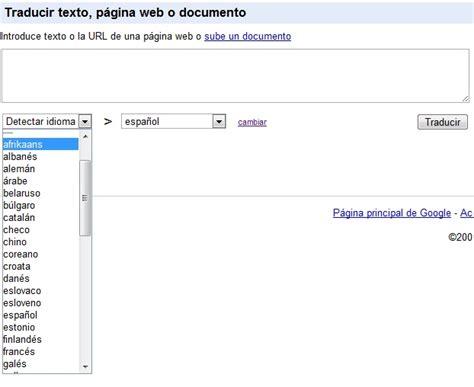 Más idiomas disponibles en Google Traductor   islaBit