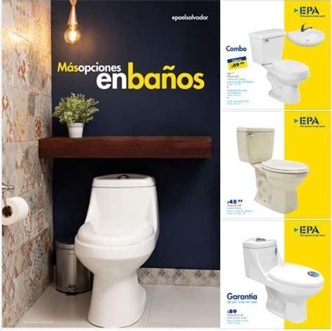 Más opciones para tu Baño con EPA El Salvador   11 Julio ...
