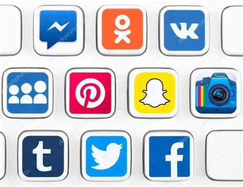 Más populares logotipos de aplicaciones de redes sociales ...