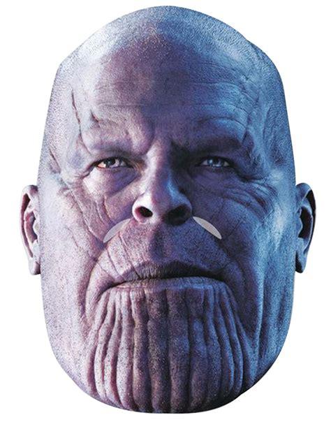 Máscara de cartón Thanos Avengers Infinity War adulto ...