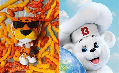 Mascotas como el Osito Bimbo y Chester Cheetos ...