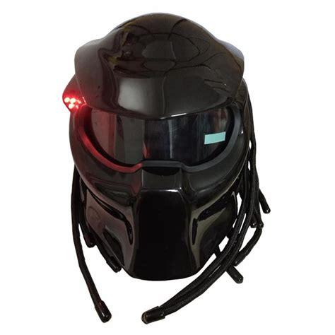 Masei 2017 New Matte Black / Bright Black Predators Helmet ...