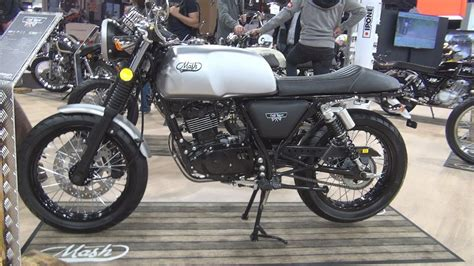 Mash Cafe Racer 125 cc Euro 4  2019  Exterior and Interior ...