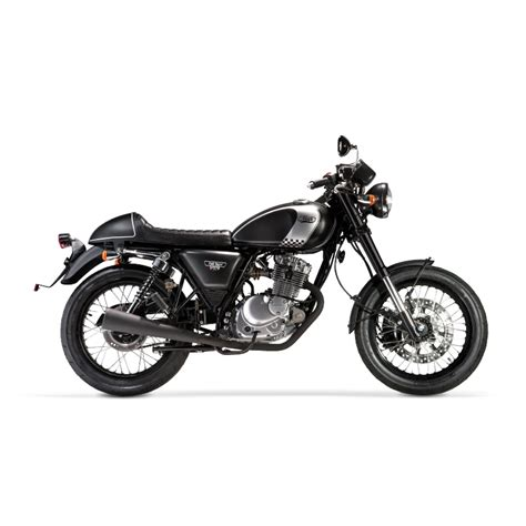 Mash Cafe Racer Black 125cc   125 leaner legal   Avon ...