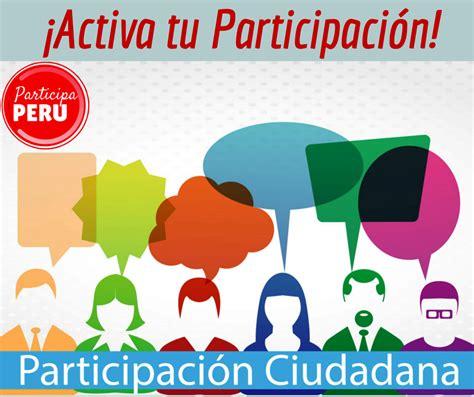 Masiva respuesta ciudadana a programas de Participación ...
