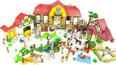 Massive Collection Horse Toys   Playmobil Country Range ...