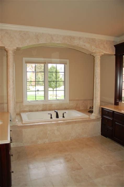 Master Bath Glazed Columns