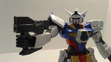 Master Grade Gundam AGE 1 Normal Review   YouTube