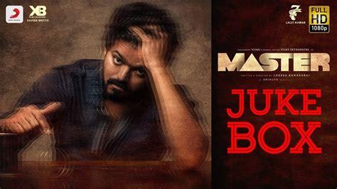 Master Songs  Lyrical    Master Jukebox   Vijay Latest ...
