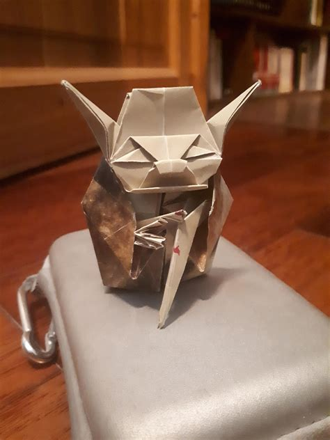 Master Yoda  from Jo Nakashima  : origami