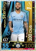 Match Attax 2018/19 Football Trading Cards