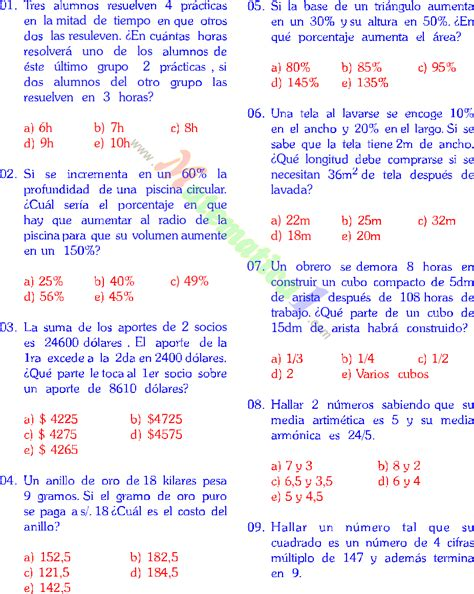 MATEMATICAS 5° PRIMARIA PROBLEMAS RESUELTOS PARA LA ...