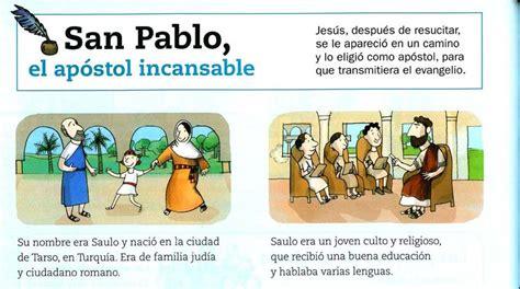 MATERIALES DE RELIGIÓN CATÓLICA: Historia de San Pablo, el ...