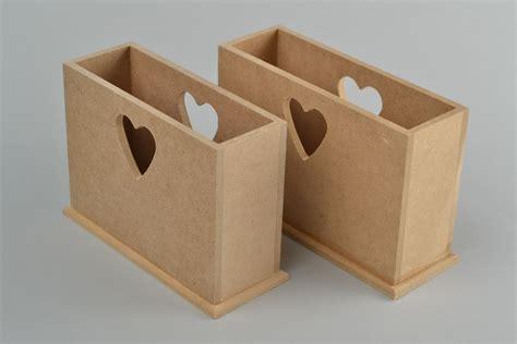Materiales para manualidades servilleteros de madera 2 ...