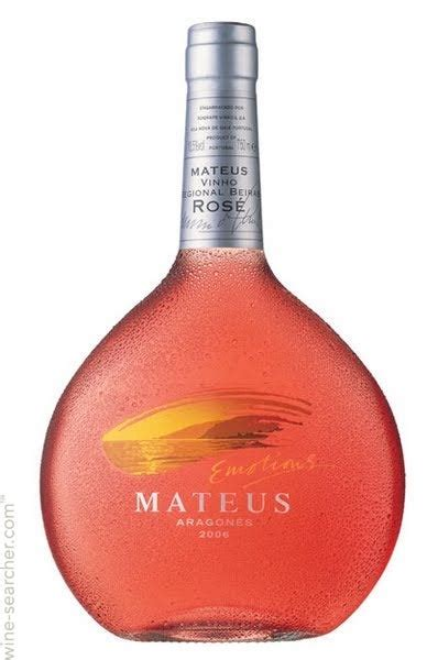 Mateus Aragones Rose, Portugal: prices | wine searcher