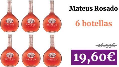Mateus Rosado   Vino Rose   Pack de 6 x 0.75 l   Vino ...