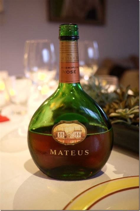 Mateus Rose from Portugal. Now this brings back memories ...