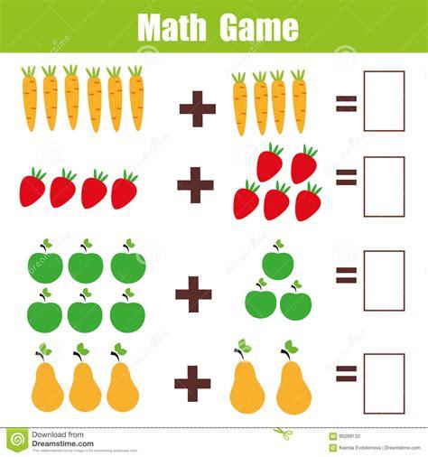 Math Educational Game For Children, Addition Mathematics ...