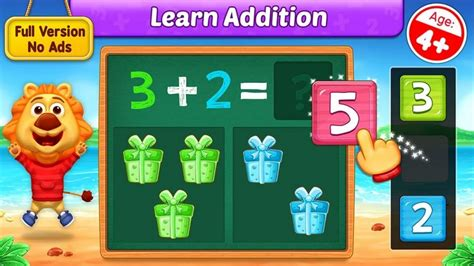 Math Kids   Add, Subtract, Count and Learn   Adding Fun ...