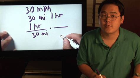 Math Lessons : How to Calculate Minutes Per Mile   Math ...