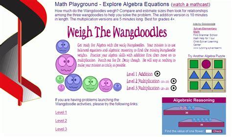 math playground   algebra