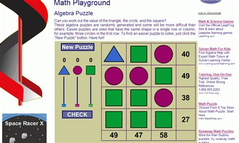 Math Playground   asktoday