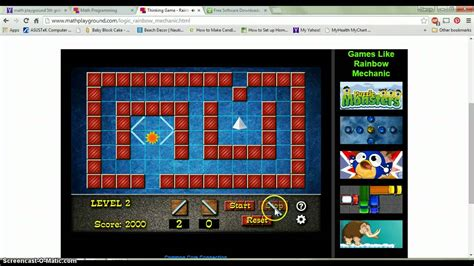 math playground geometry and angle games ROCCO   YouTube