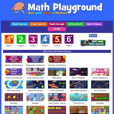 Math Playground   Online Math Games that Give Your Brain a ...