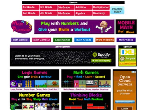 Math Playground – edshelf