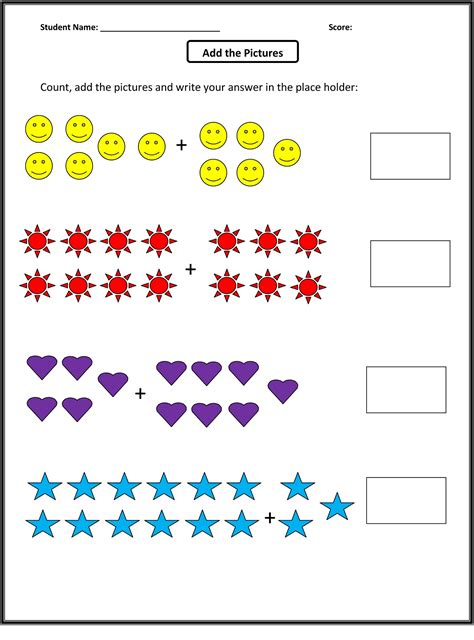 Math Sheets for Grade 1 to Print | Activity Shelter