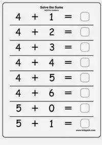 Math Teaser 4 Kids: Addition   Kindergarten