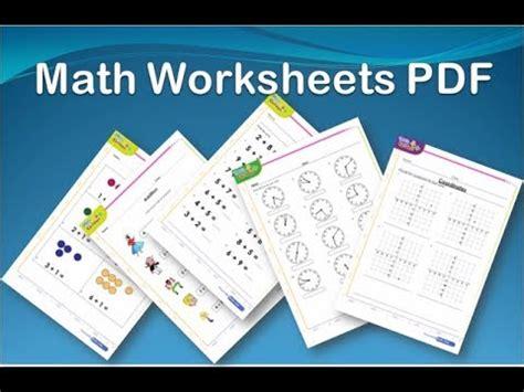 Math Worksheets For Kids | Pdf Printable downloads FREE ...
