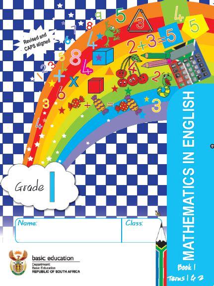 Mathematics Grade 1 English Work Book 1 Term 1 & 2 | WCED ...