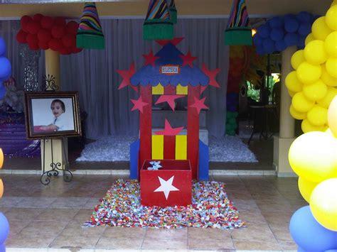 Mauricio Events: Cumpleaños Infantil Decoración Estilo Circo