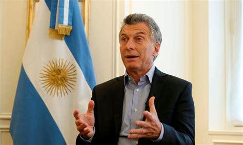 Mauricio Macri: Argentina  no va a reconocer  próximas ...