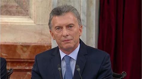 Mauricio Macri:  La gente tiene que aguantar  | El Cronista