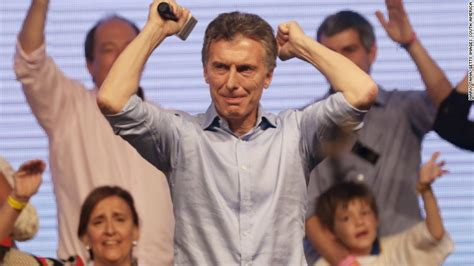 Mauricio Macri poised to be next Argentine president   CNN.com
