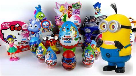 Maxi Kinder Surprise Despicable me Minions Surprise eggs ...