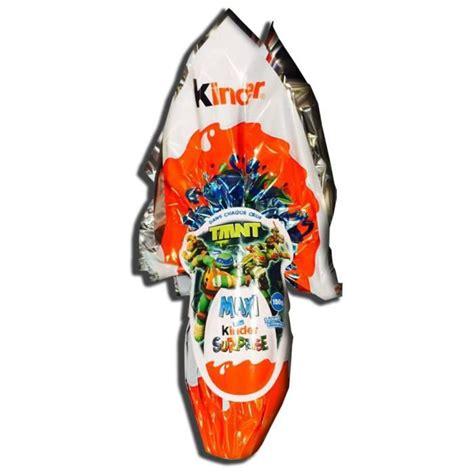 Maxi Kinder surprise TMNT 150 g   Achat / Vente barres ...