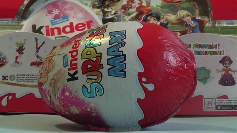 MAXI KINDER SURPRISE Vajíčko Vianočné SEB20 Super DC Hero ...
