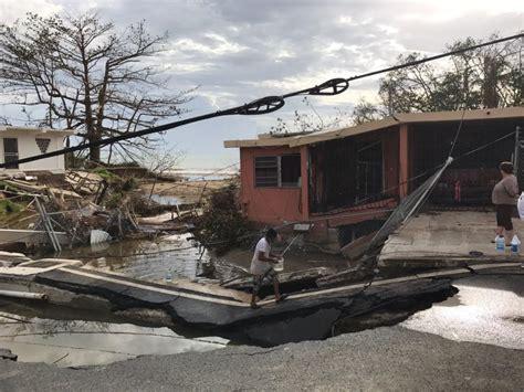 Mayagüez  Puerto Rico  después del paso del huracán María ...