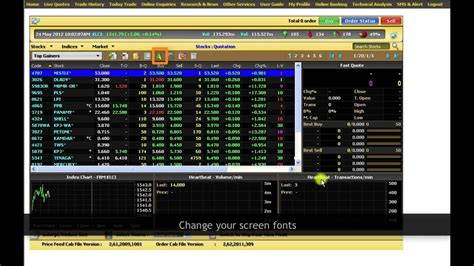 Maybank2u Online Stocks Tutorial 1: How to View Live ...